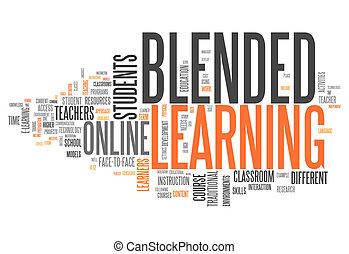 """mot, """"blended, nuage, learning"""""""
