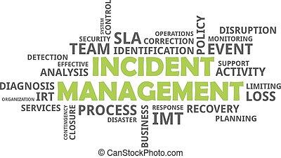 mot, incident, gestion, -, nuage