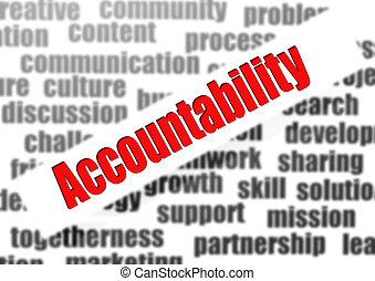 mot, nuage, accountability