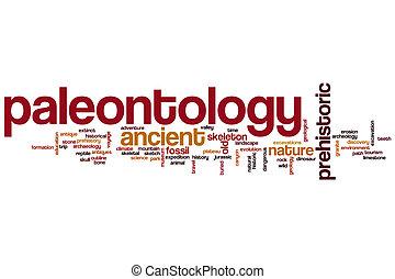 mot, nuage, paléontologie