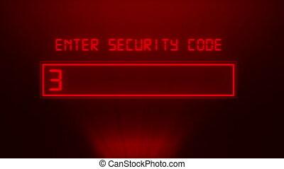 mot passe, sécurité, concept