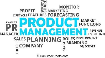 mot, produit, gestion, -, nuage
