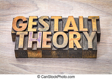 mot, résumé, woodtype, théorie, gestalt