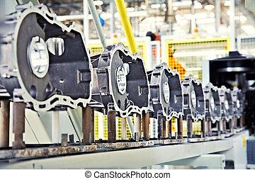 moteur, fabrication, parties