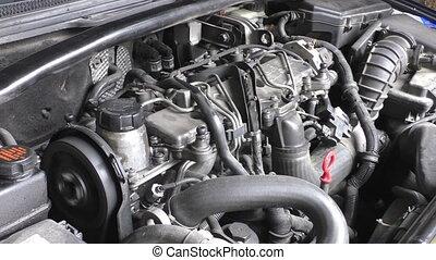 moteur, voiture, fonctionnement
