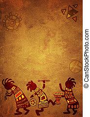 motifs, national, africaine