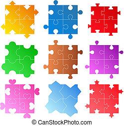 motifs, puzzle