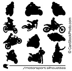 motorsport, silhouettes, collection