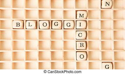 mots croisés, forme, blogging, micro