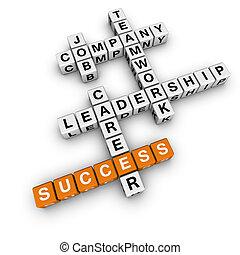 mots croisés, métier, stratégie