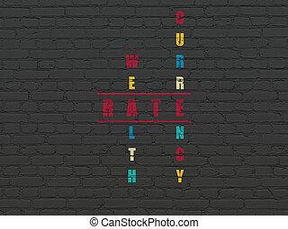 mots croisés, taux, concept:, monnaie