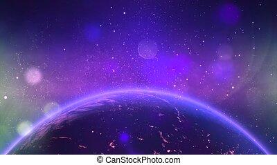 mouche, galaxy., espace, nébuleuse, -, par, fond, 8