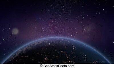 mouche, galaxy., espace, nébuleuse, -, par, fond, 9