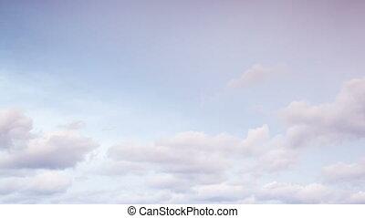 mouche, nuages, ciel