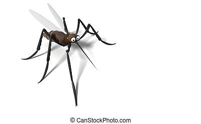 moustique, 3d