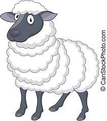mouton, dessin animé