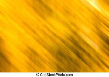 mouvement, doré, résumé, fond, barbouillage