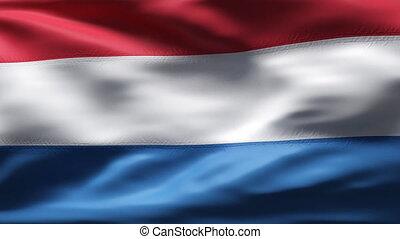 mouvement, drapeau hollandais, lent