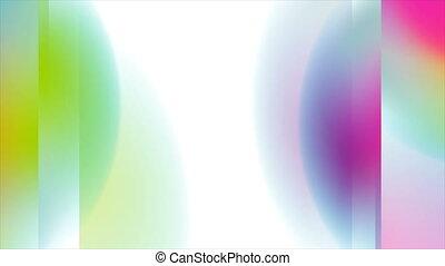 mouvement, holographic, résumé, fond, géométrique, coloré