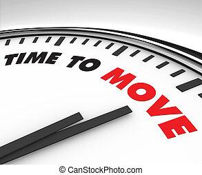 mouvement, -, pointeuse