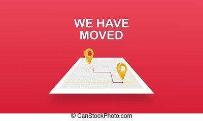 mouvement, signe., moved., bureau mobile, avoir, clipart, nous, image., graphiques