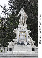 mozart, monument