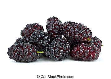 mulberries, peu
