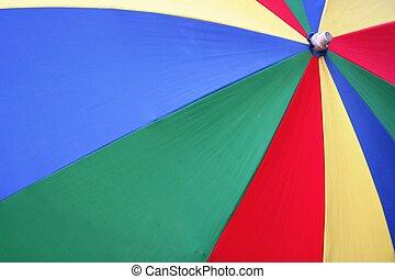 multi-coloré, umbrel