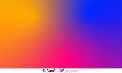 multicolore, mouvement, gradient, fond