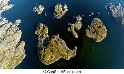 multicopter, nature, calme, stts, zelentsy, sea., tir, dalniye, barents