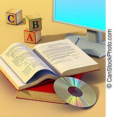 multimédia, apprentissage