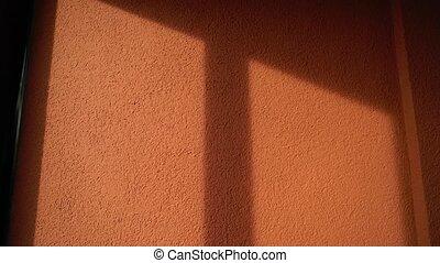 mur, bâtiment, rouges