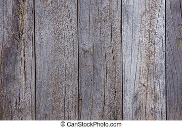 mur, bois, fait, planches