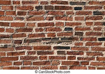 mur brique, texture