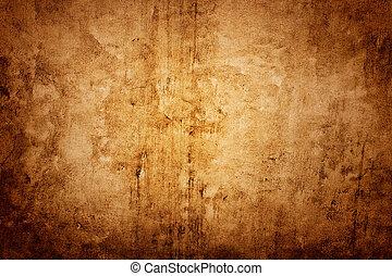 mur, brun, texture