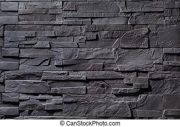 mur, gris, texture pierre