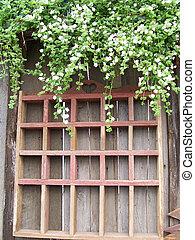 mur, image, serre, stockage