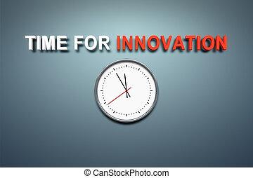 mur, innovation, temps
