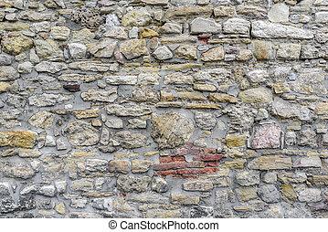 mur, pierre, texture.