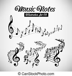 musical, bâtons