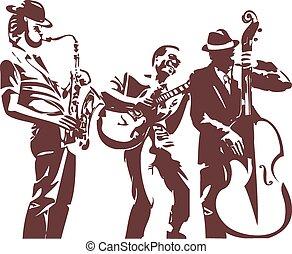 musiciens jazz