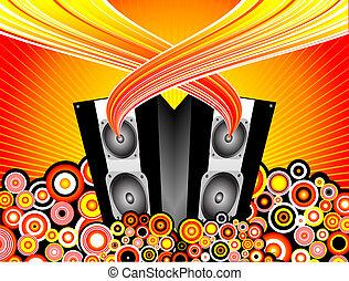 musique, éclater