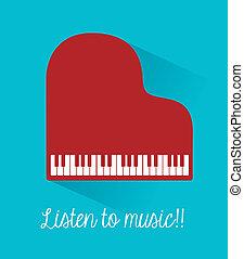 musique, conception