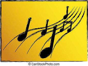 musique, illustration