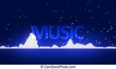 musique, mot, fond