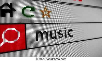 musique, recherche, internet