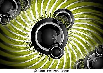 musique, spirale