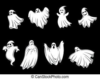 mystère, fantômes, halloween