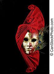 mystérieux, masque