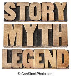 mythe, légende, histoire